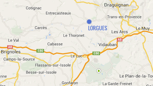 carte lorgues